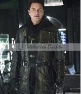 Arrow John Barrowman Dark Archer Coat
