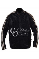 Lethal Weapon 4 Mel Gibson Black Leather Jacket