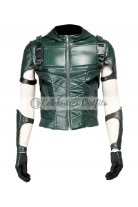 Arrow Season 4 Stephen Amell Green Hoodie Jacket