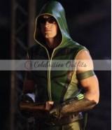 Oliver Queen Green Arrow SmallVille Vest Jacket