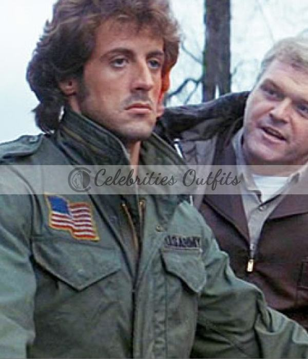 John Rambo First Blood Sylvester Stallone Cotton Jacket