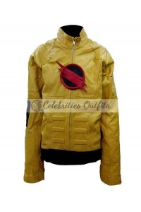Reverse Flash Superhero Cosplay Leather Costume Jacket