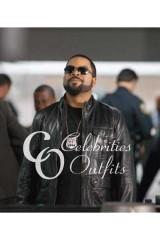 Ice Cube Ride Along Black Leather Jacket