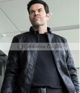 Supergirl S4 Robert Baker Black Leather Jacket
