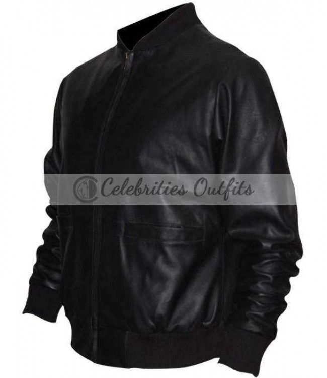 Sylvester Stallone Rocky Ii Tiger Leather Jacket Sale