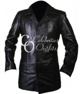 Rocky II Sylvester Stallone Balboa Black Leather Jacket