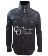 R.I.P.D. Ryan Reynolds Nick Black Leather Jacket