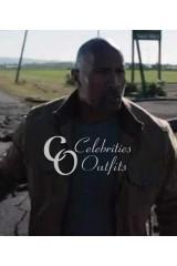 Dwayne Johnson Brown Jacket in San Andreas Movie
