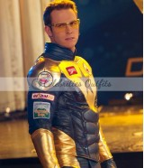 Smallville Blue and Golden Booster Gold Jacket
