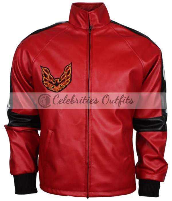 Burt Reynolds Smokey And The Bandit Red Bomber Jacket