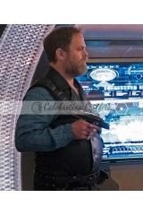 Star Trek Discovery S02 Rainn Wilson Black Leather Vest