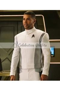 Wilson Cruz Star Trek Discovery Dr. Hugh Culber White Jacket