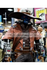 Cad Bane Star Wars The Clone Wars Distressed Leather Coat