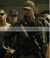 Suicide Squad Rick Flag Black Leather Jacket