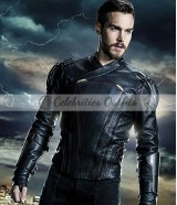 Supergirl S3 Chris Wood Mon-El Leather Jacket