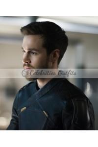 Supergirl S3 Chris Wood Mon-El Leather Jacket