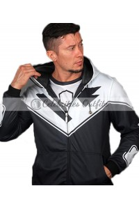 Superman Beyond Black And White Jacket