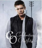 Jensen Ackles Supernatural Black Leather Vest