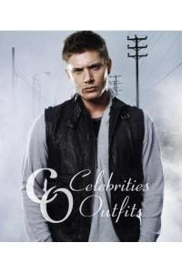 Jensen Ackles Supernatural Black Leather Vest