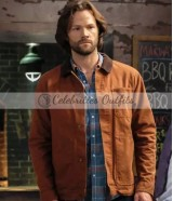 Jared Padalecki Supernatural S14 Sam Winchester Cotton Jacket