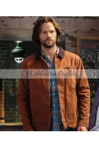 Jared Padalecki Supernatural S14 Sam Winchester Cotton Jacket