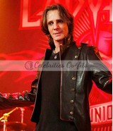 Rick Springfield Supernatural Lucifer Black Leather Jacket