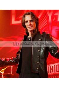Rick Springfield Supernatural Lucifer Black Leather Jacket