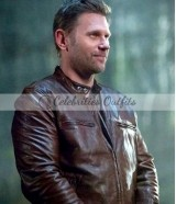 Mark Pellegrino Supernatural Lucifer Brown Leather Jacket