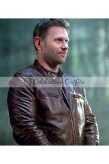 Mark Pellegrino Supernatural Lucifer Brown Leather Jacket