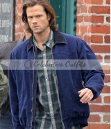 Sam Winchester Supernatural Jared Padalecki Cotton Jacket