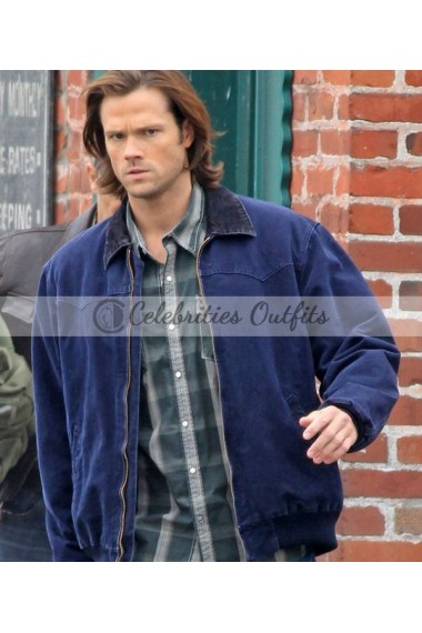 Sam Winchester Supernatural Jared Padalecki Cotton Jacket