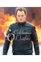 Jason Clarke Terminator Genisys Black Leather Jacket