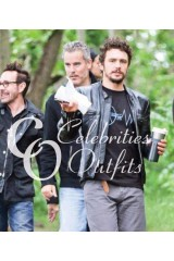 James Franco The Adderall Diaries Black Leather Jacket