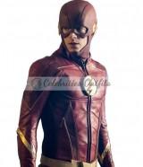 The Flash Barry Allan Season 4 Leather Jacket