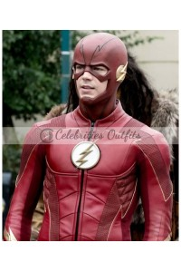 The Flash Barry Allan Season 4 Leather Jacket