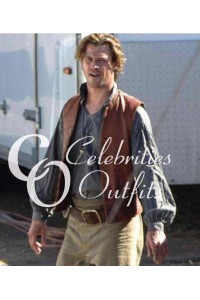 Chris Hemsworth In the Heart of the Sea Leather Vest