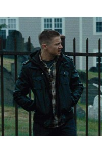 Jeremy Renner Black Jacket The Town Movie