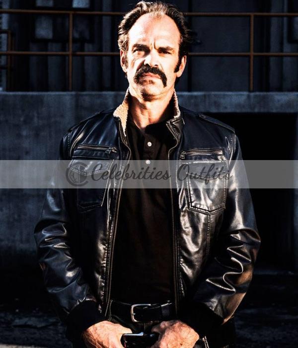 Simon The Walking Dead S8 TV Series Steven Ogg Jacket
