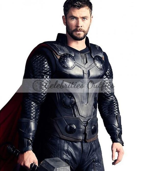 Thor Avengers Infinity War Leather Vest