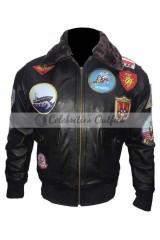 Top Gun Tom Cruise Maverick Flight Bomber Jacket