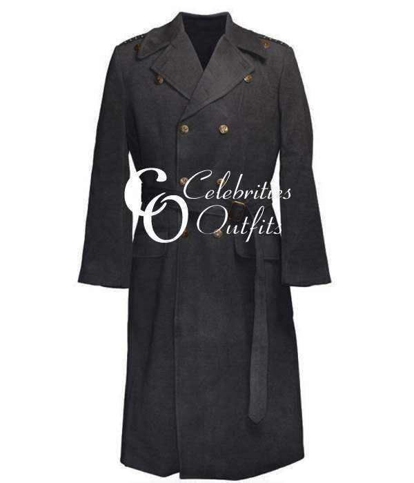 Captain Jack Harkness Torchwood Black Long Coat