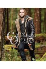 Alistair Twilight Saga: Breaking Dawn Trench Leather Coat