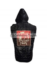Wrench Watch Dogs 2 Leather Jacket Vest