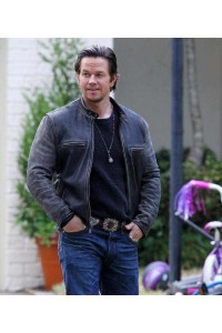 Daddy's Home Mark Wahlberg Distressed Jacket