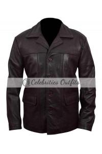 Kiefer Sutherland 24 Season 8 Black Leather Jacket