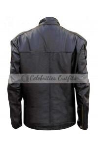 Aaron Paul Breaking Bad Jesse Black Leather Jacket