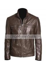 Brett Dalton Agents of S.H.I.E.L.D. Brown Leather Jacket