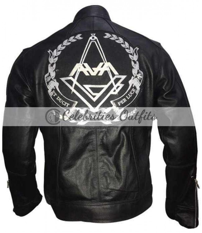 Angels and airwaves leather jacket