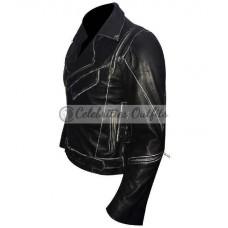 Arnold Schwarzenegger Terminator 2 Black Motorcycle Jacket
