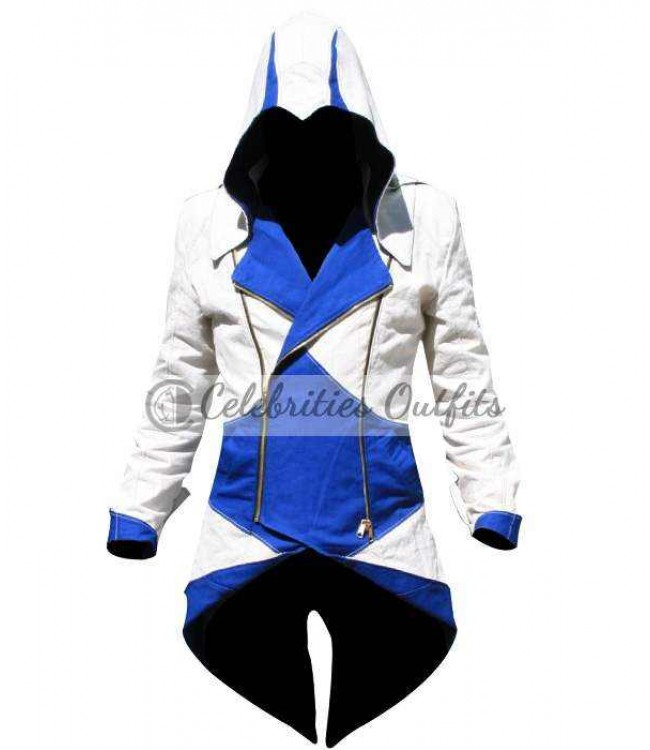 Connor Kenway Assassins Creed 3 Replica Cosplay Faux Costume